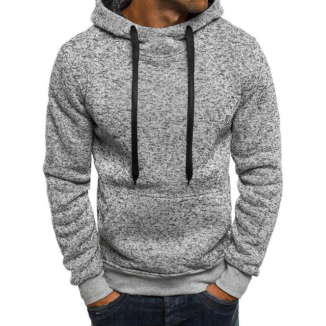 Laamei 2018 New Brand Sweatshirt Men Hoodies - cover photo