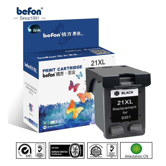 Refill 21 22 XL Ink Cartridge Replacement for HP 21 22 HP21 HP22 21XL 22XL Deskjet F2180 F2280 F4180 F380 380 Printer - cover photo